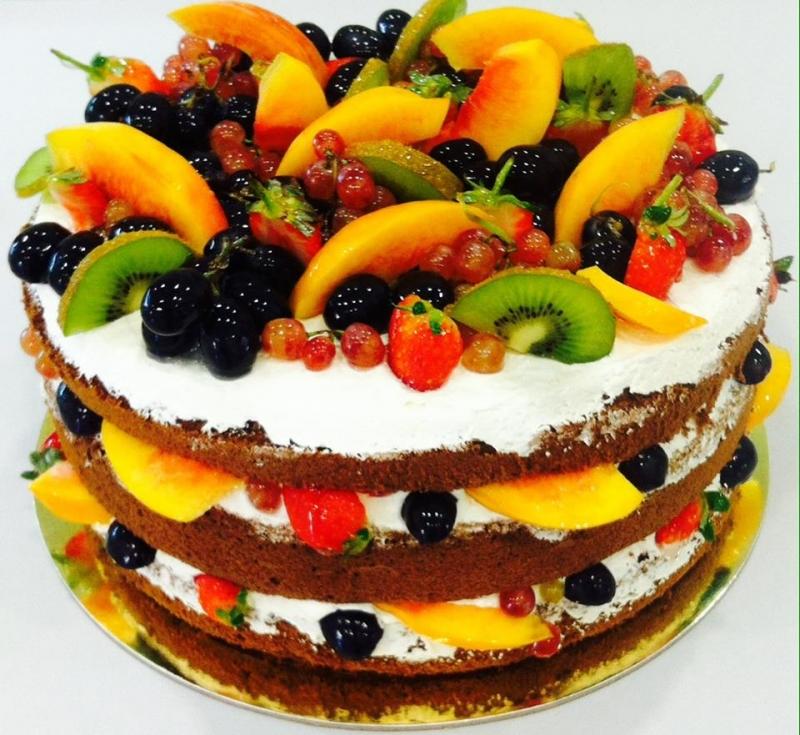 Картинки торт фруктами вероятно