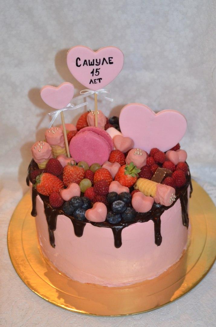 Сладкоежкам торты фото