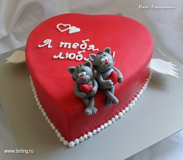 торты на день рождения любимому фото