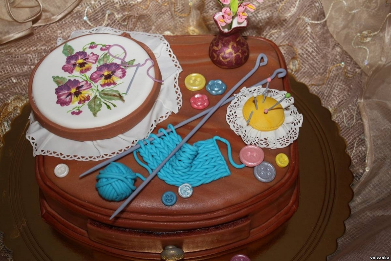 Торт для бабушки