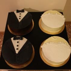Красивые торты, Gâteaux de mariage