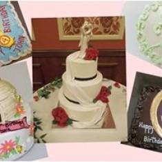 Vesta Bakery, Gâteaux de mariage