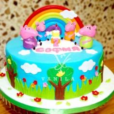 Վանիլա խմորեղեն, 어린애 케이크