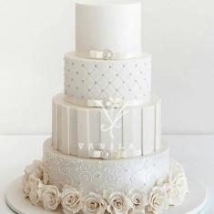 Վանիլա խմորեղեն, 웨딩 케이크