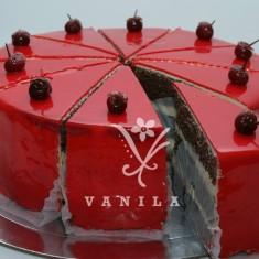 Վանիլա խմորեղեն, 차 케이크