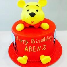 Zarina Cake Art, 어린애 케이크