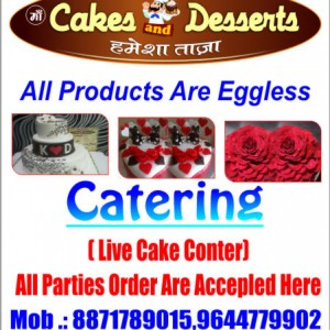 Maa cakes and desserts